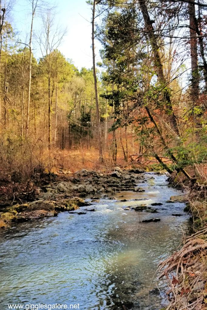 Broken bow river