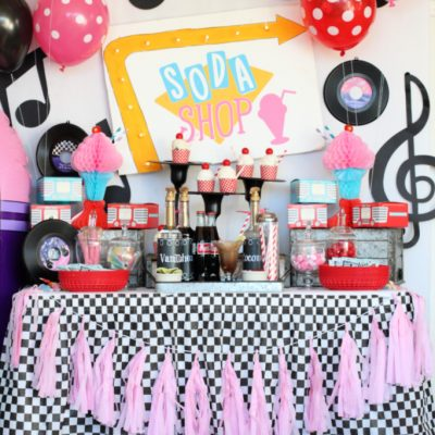 Daddy Daughter Sock Hop Valentine's Day Party