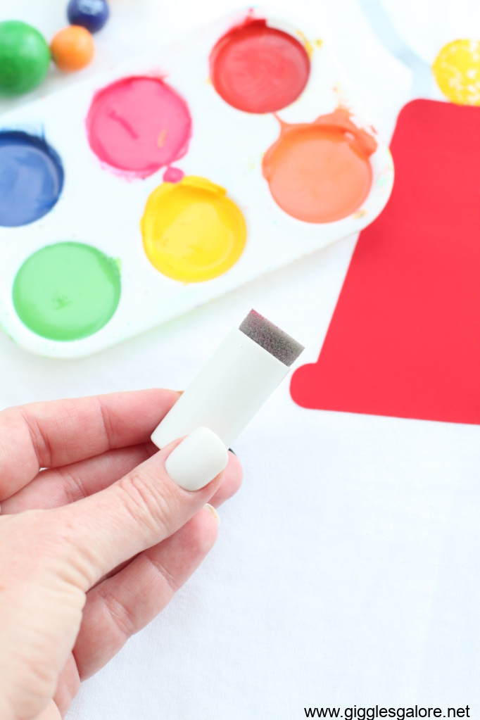Fabric paint sponge dauber