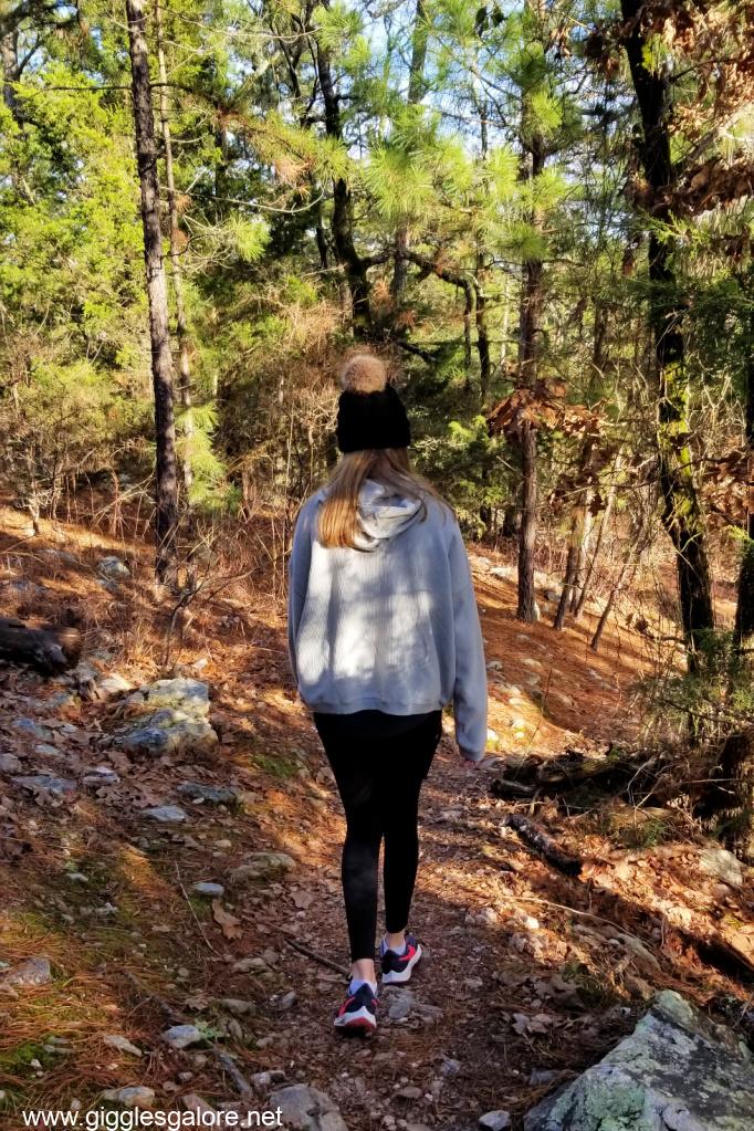Hiking in broken bow