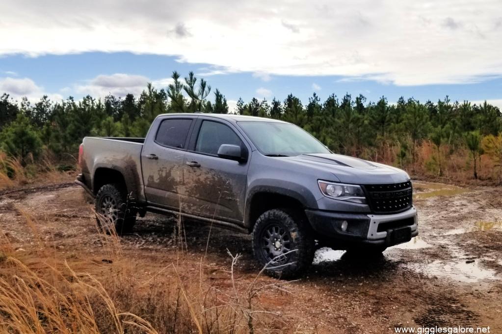 Take the scenic route chevy colorado