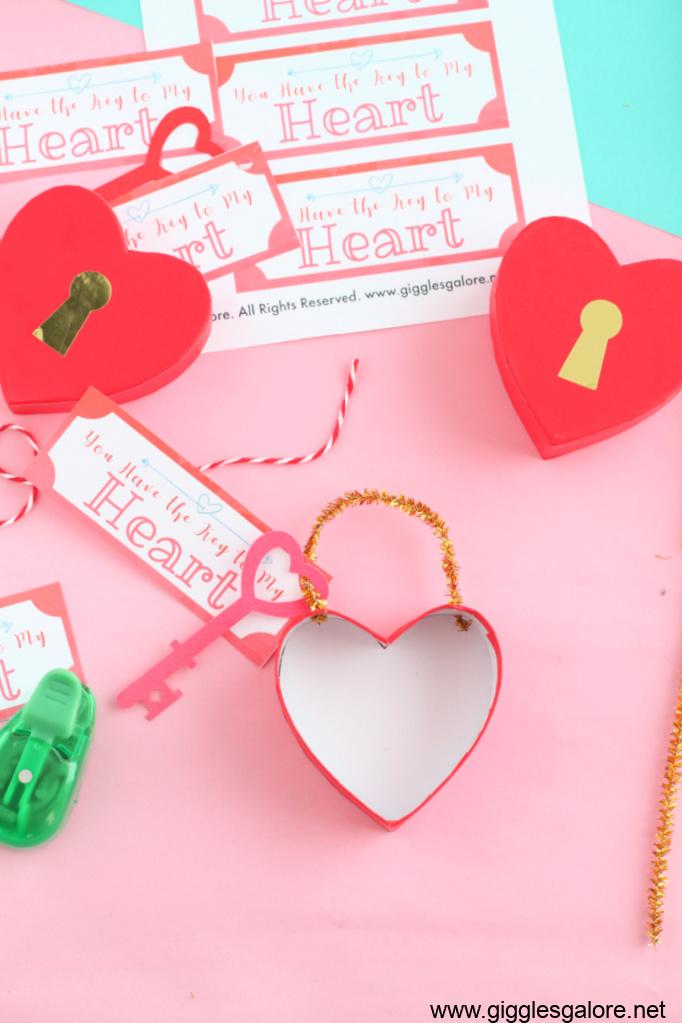 Key to my heart treat box