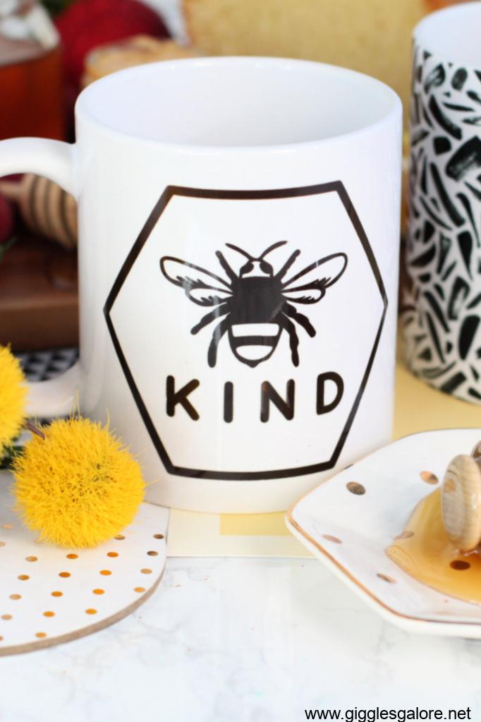 Be kind hexagon mug