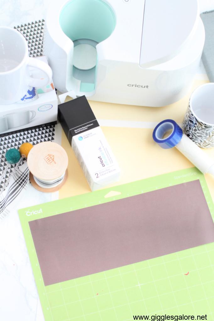 Cricut infusible ink mug sheet