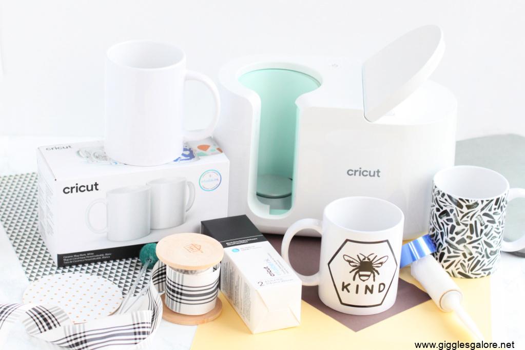 Cricut mug press supplies