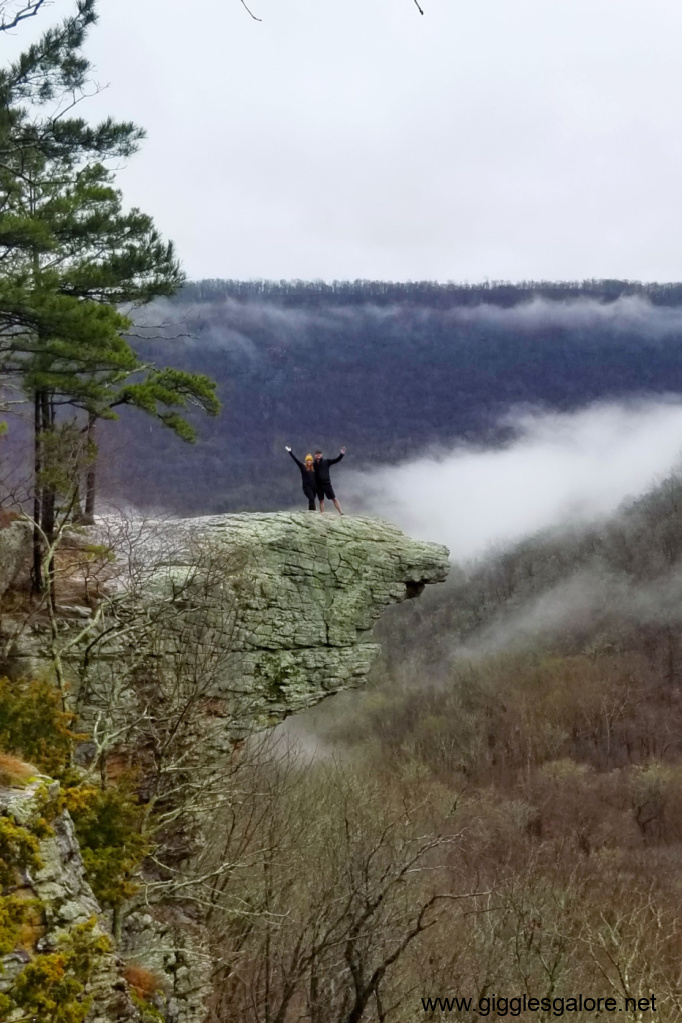 Living on the edge whitaker point
