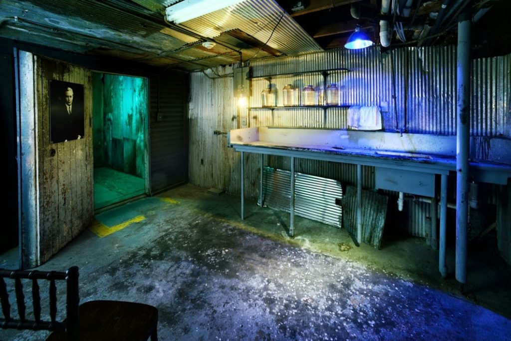 Morgue crescent hotel ghost tour