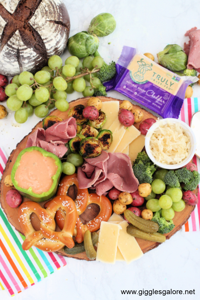 St patricks day charcuterie board giggles galore