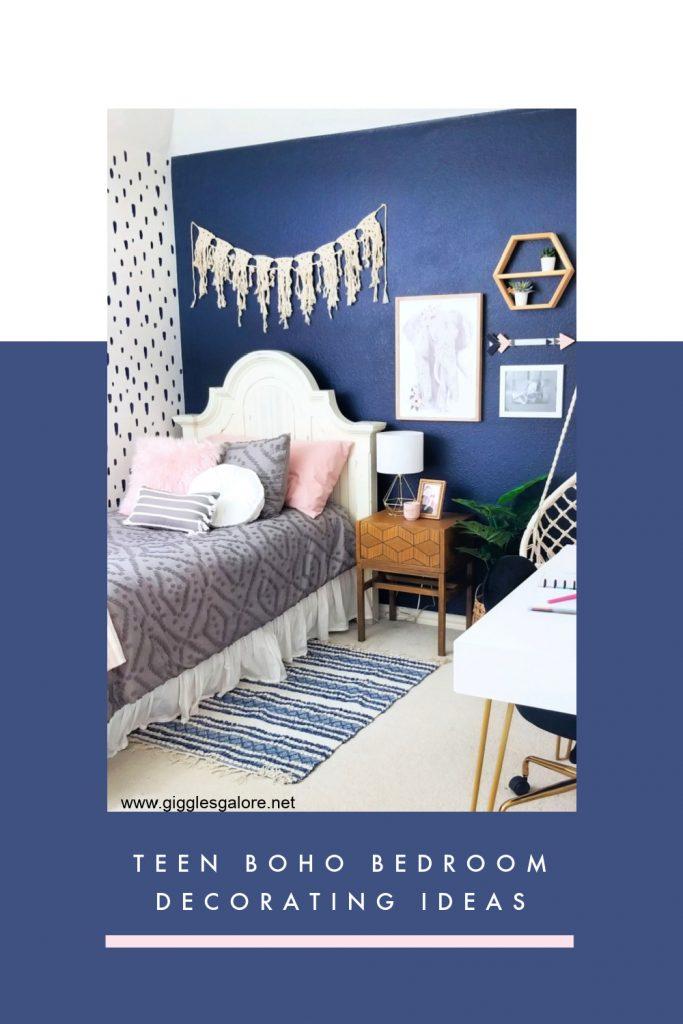 Teen boho bedroom decorating ideas