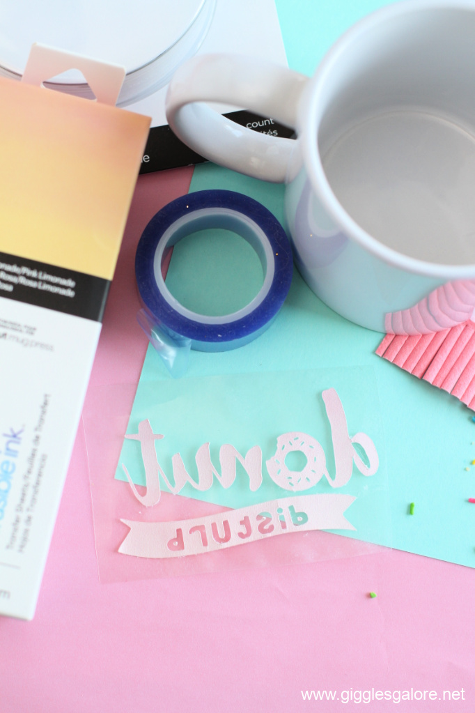 Donut distrub infusible ink design