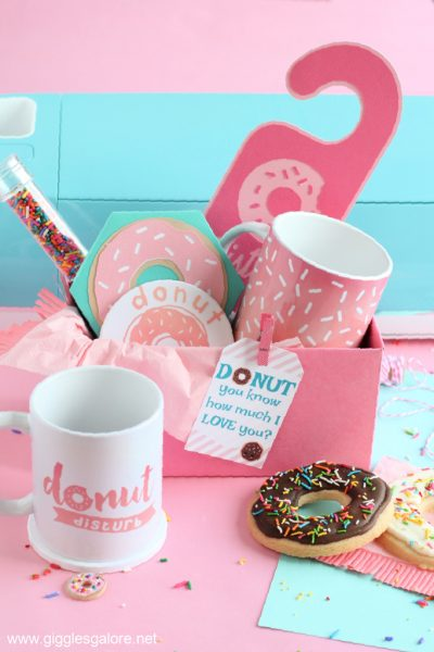 Donut mothers day gift basket