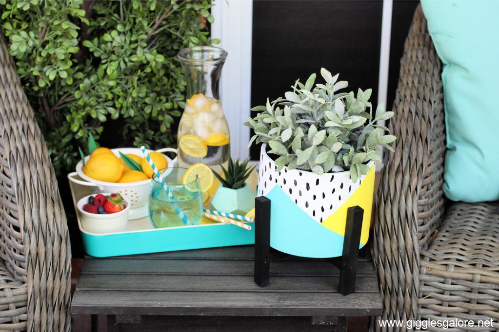 Front porch diy flower pot ideas