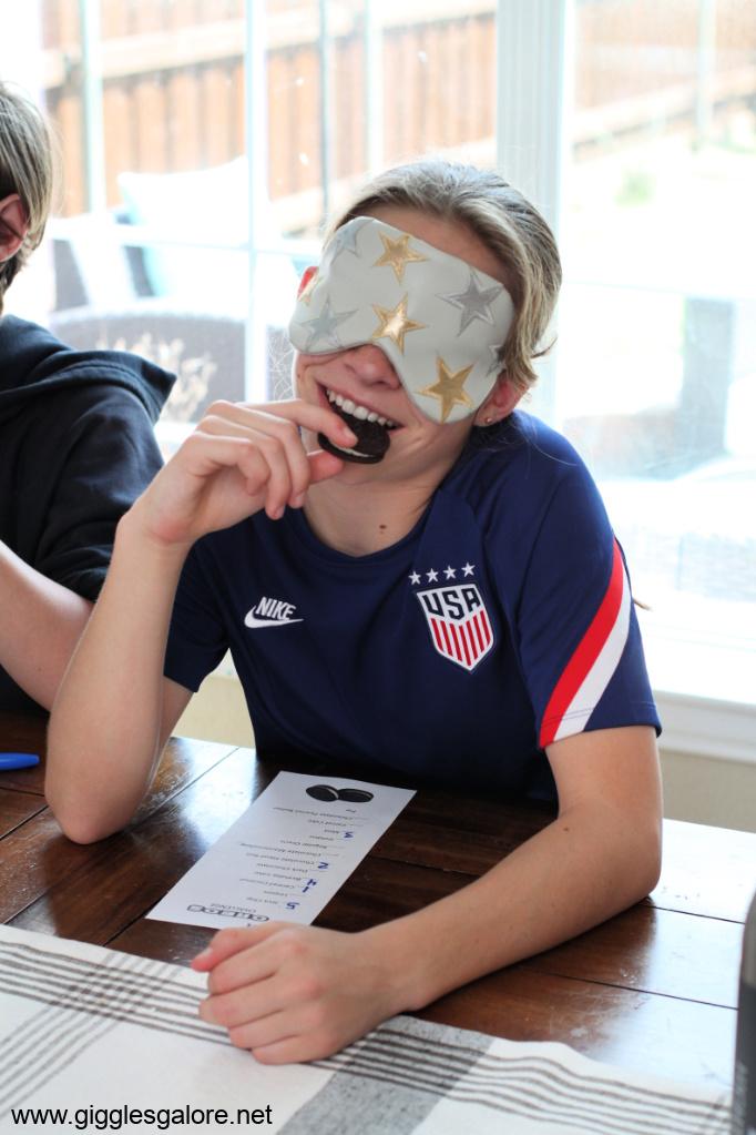 Kids activity oreo taste test