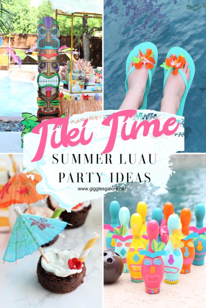 Teen Tiki Time Summer Luau Party Ideas