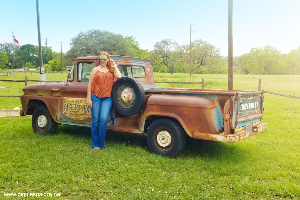 Albert icehouse vintage truck