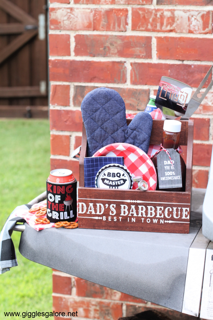 Bbq caddy gift fathers day