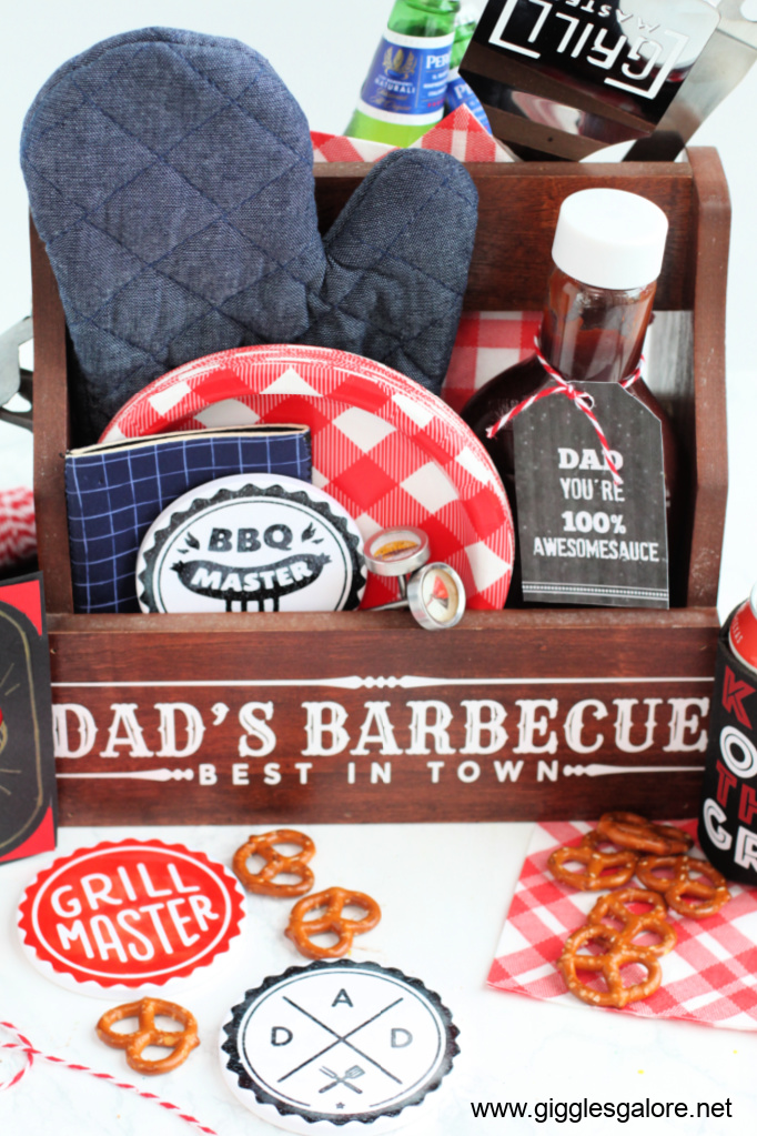 Cricut grillmaster bbq gift for fathers day