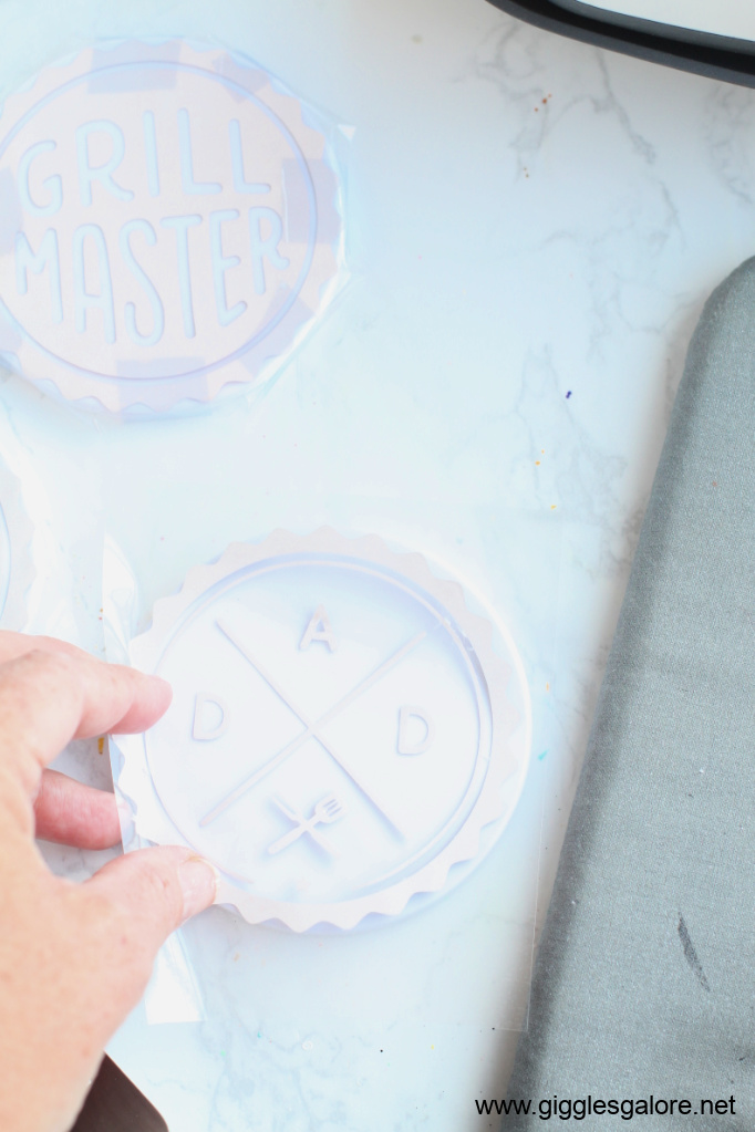 Cricut infusible ink coaster tutorial