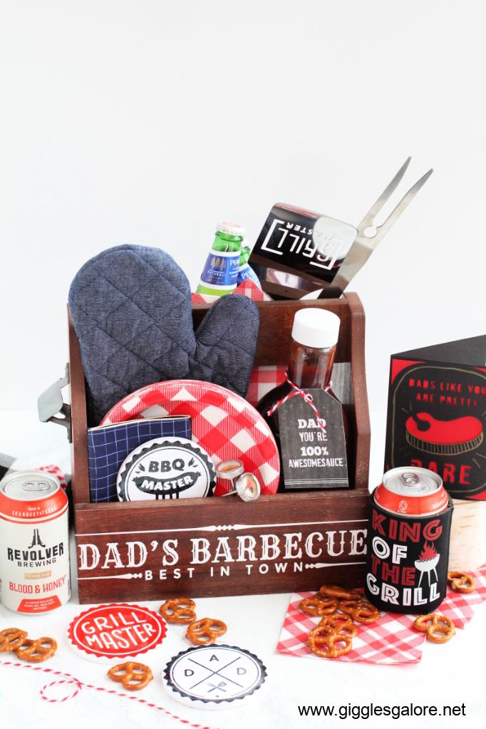 Dads bbq caddy cricut gift