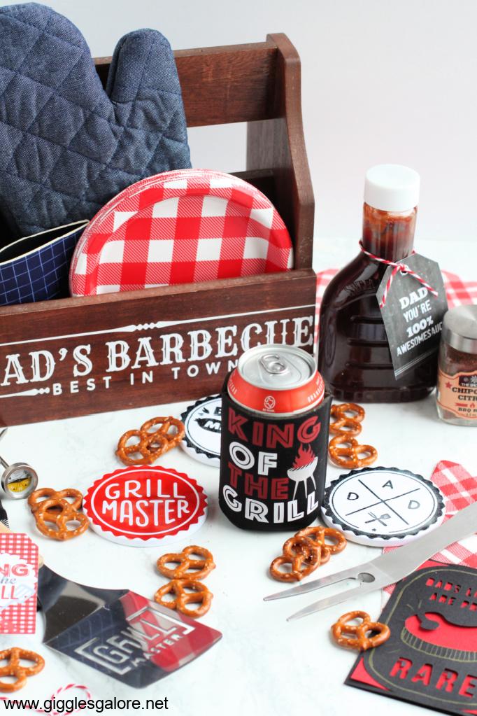 Diy grillmaster bbq caddy gift idea