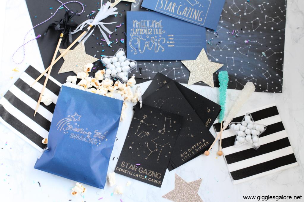 Cricut Star Gazing Date Crafts