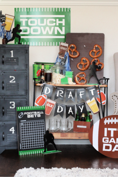 Draft Day Football Party Ideas