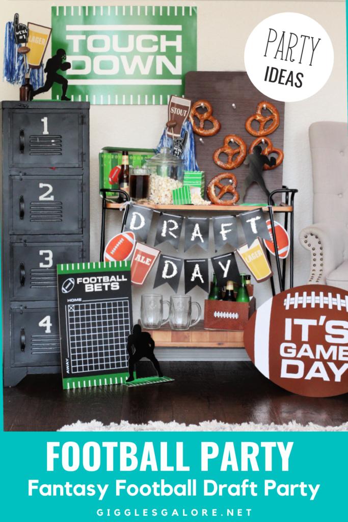 Fantasy Football Draft Party Ideas