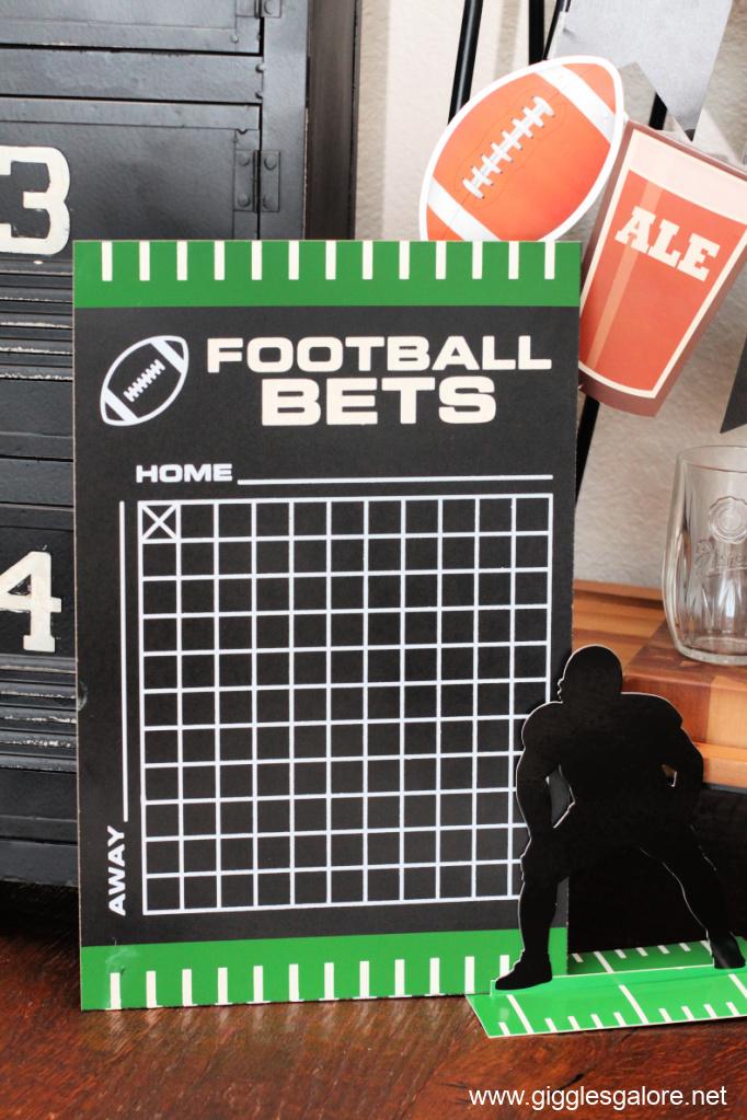 Football Betting Board