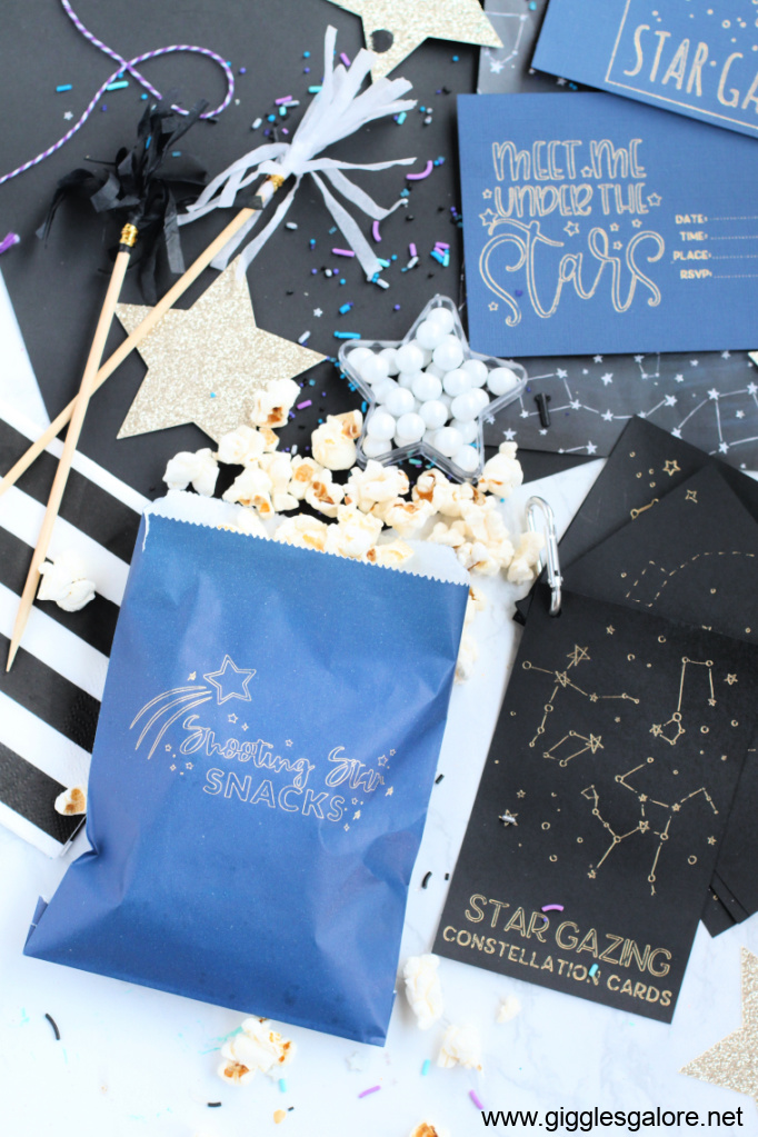 Shooting Star Snack Idea for Star Gazing Date