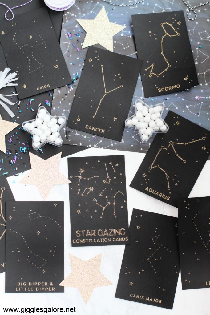 Star Gazing Constellation Cards