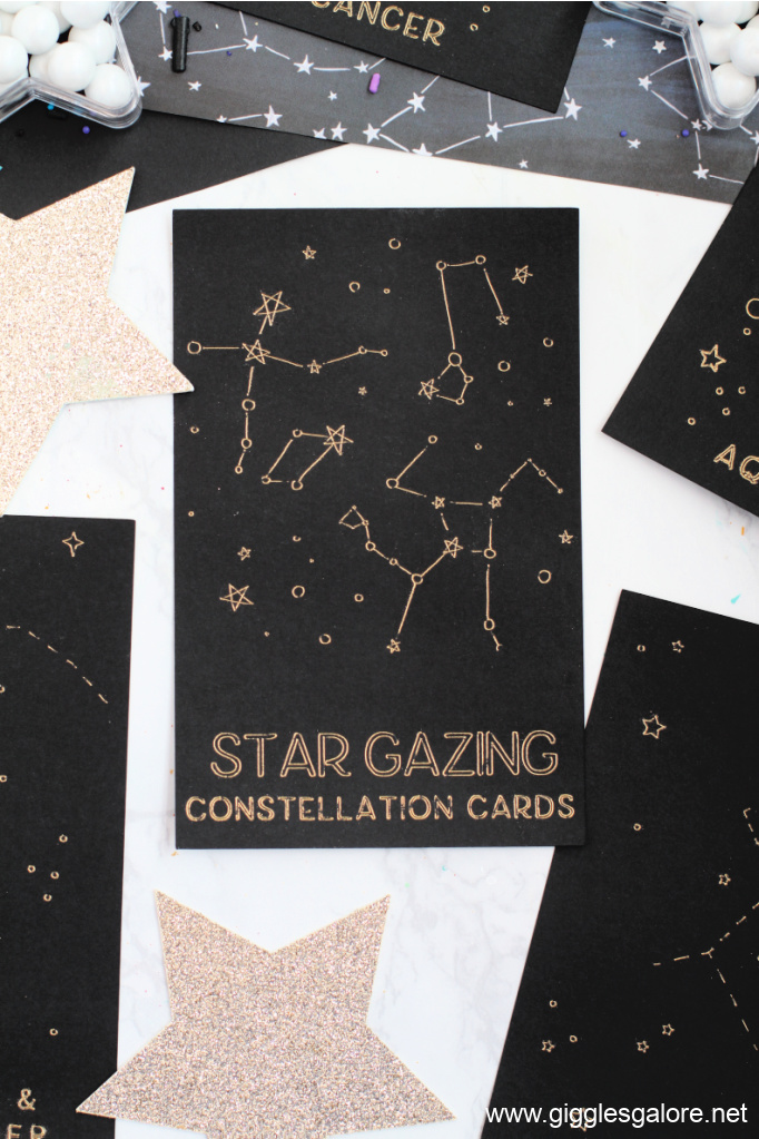 Star Gazing Constellation Foil Cards