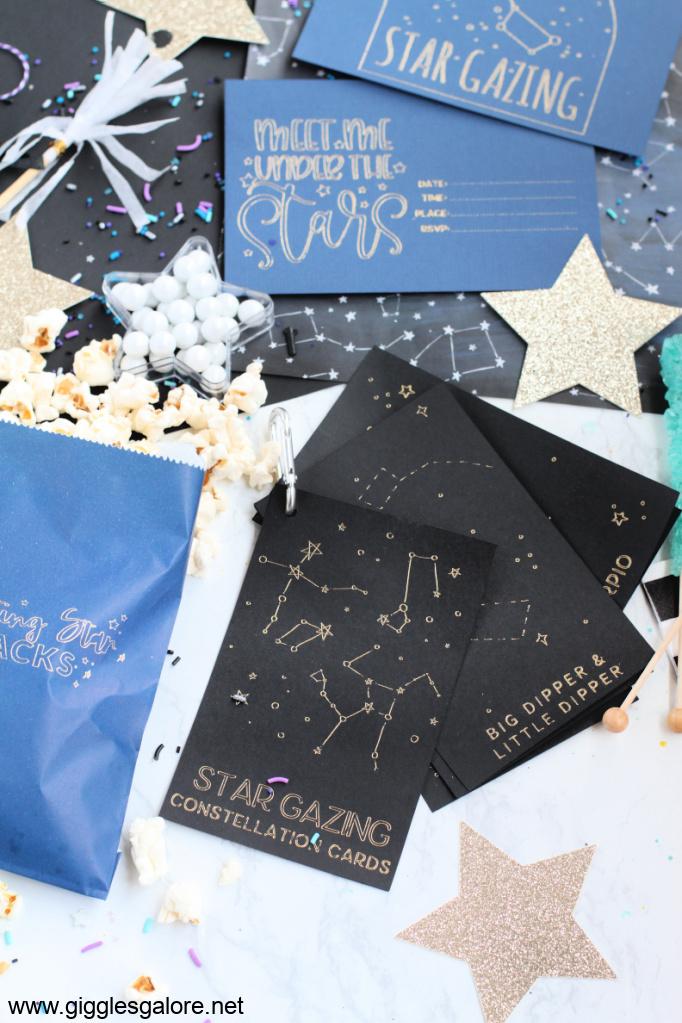 Star Gazing Date Night Ideas with Cricut