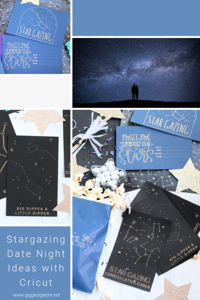 Star Gazing Date Night Ideas with Cricut Giggles Galore