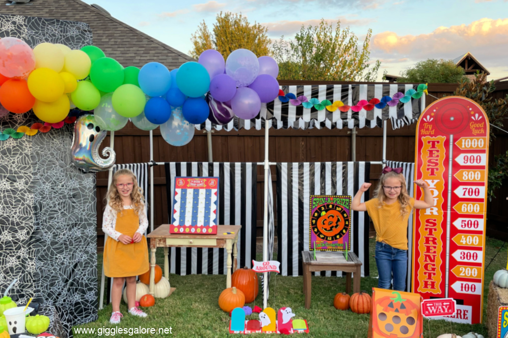 Kid Friendly Rainbow Halloween Carnival
