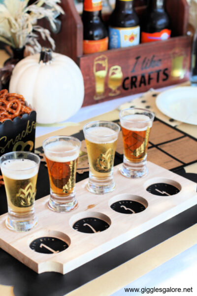 Beer Tasting Party With Cricut Decals