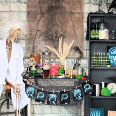 Mad Scientist Adult Halloween Party