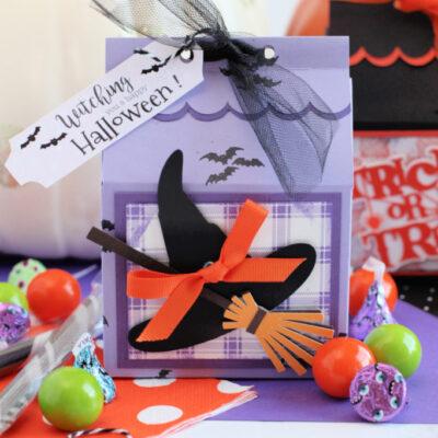 DIY Halloween Treat Boxes with Cricut