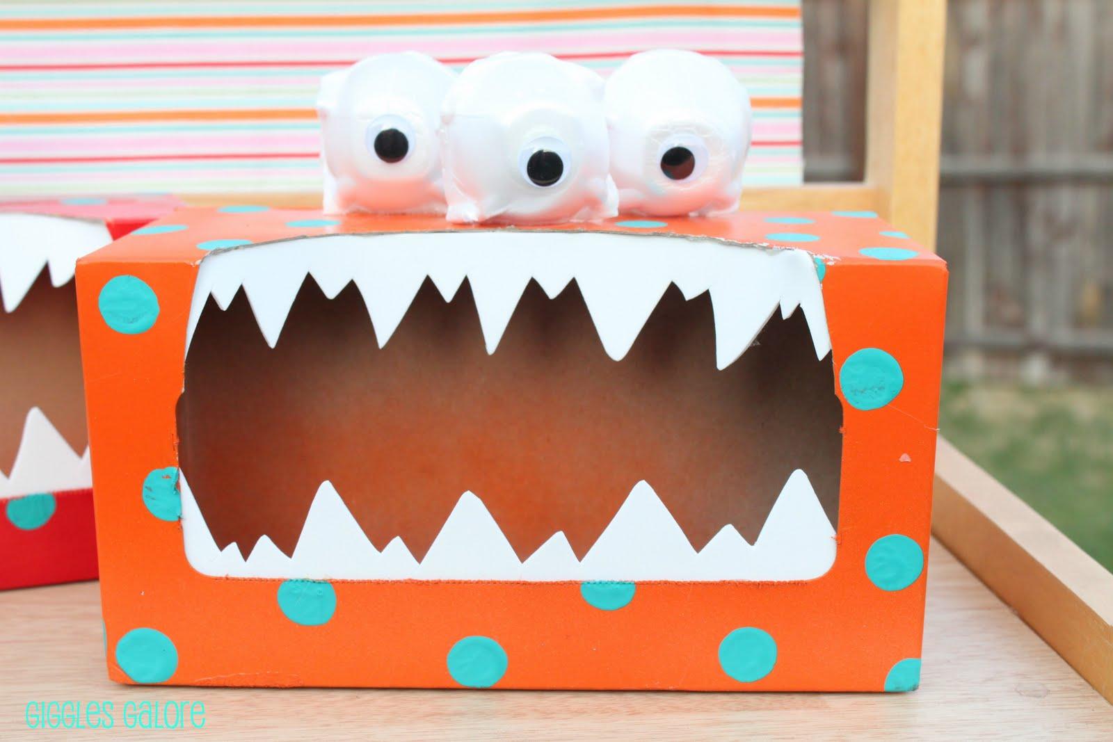 Tattle monster - Manualidades con cajas de zapatos ...