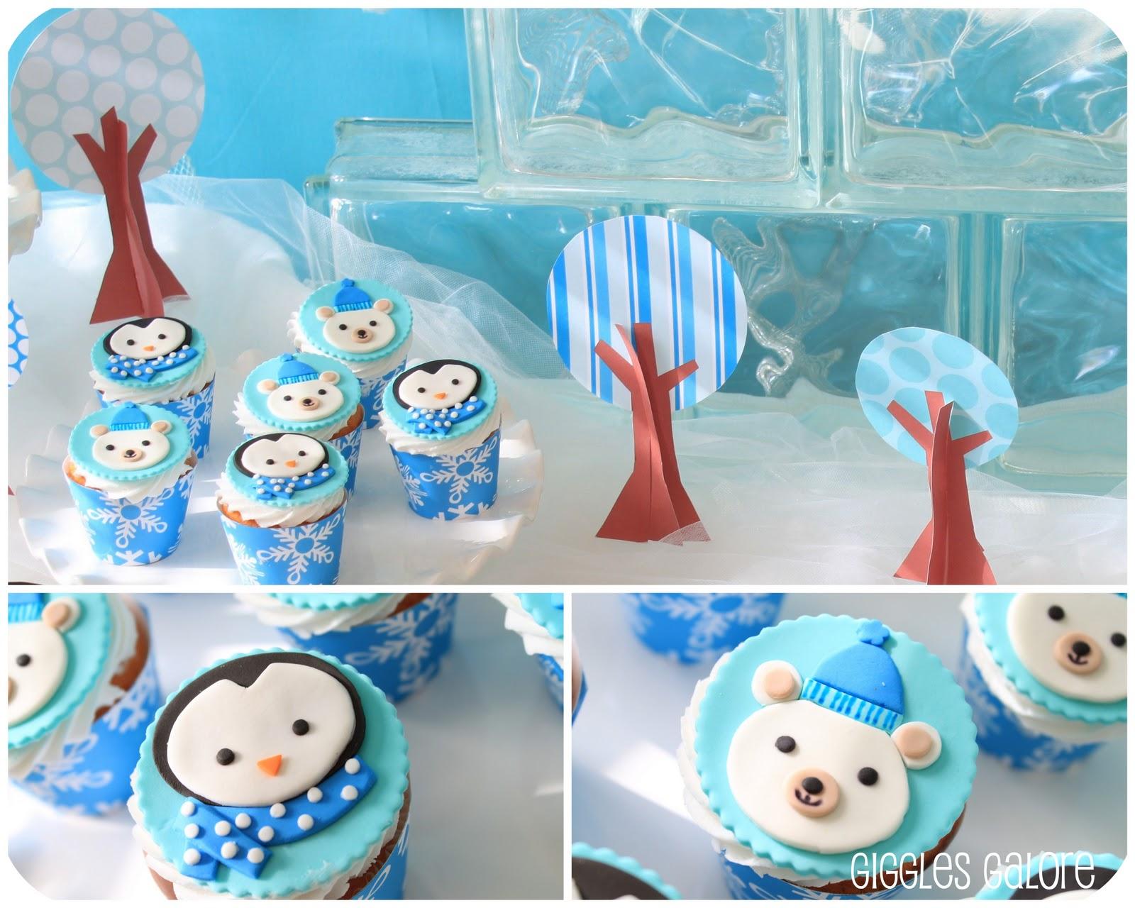Penguins Amp Polar Bears Winter Onederland Birthday Party
