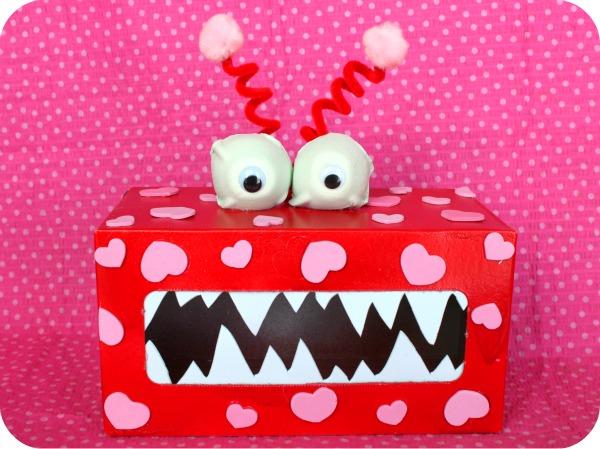 DIY Monster Valentine's Day Box