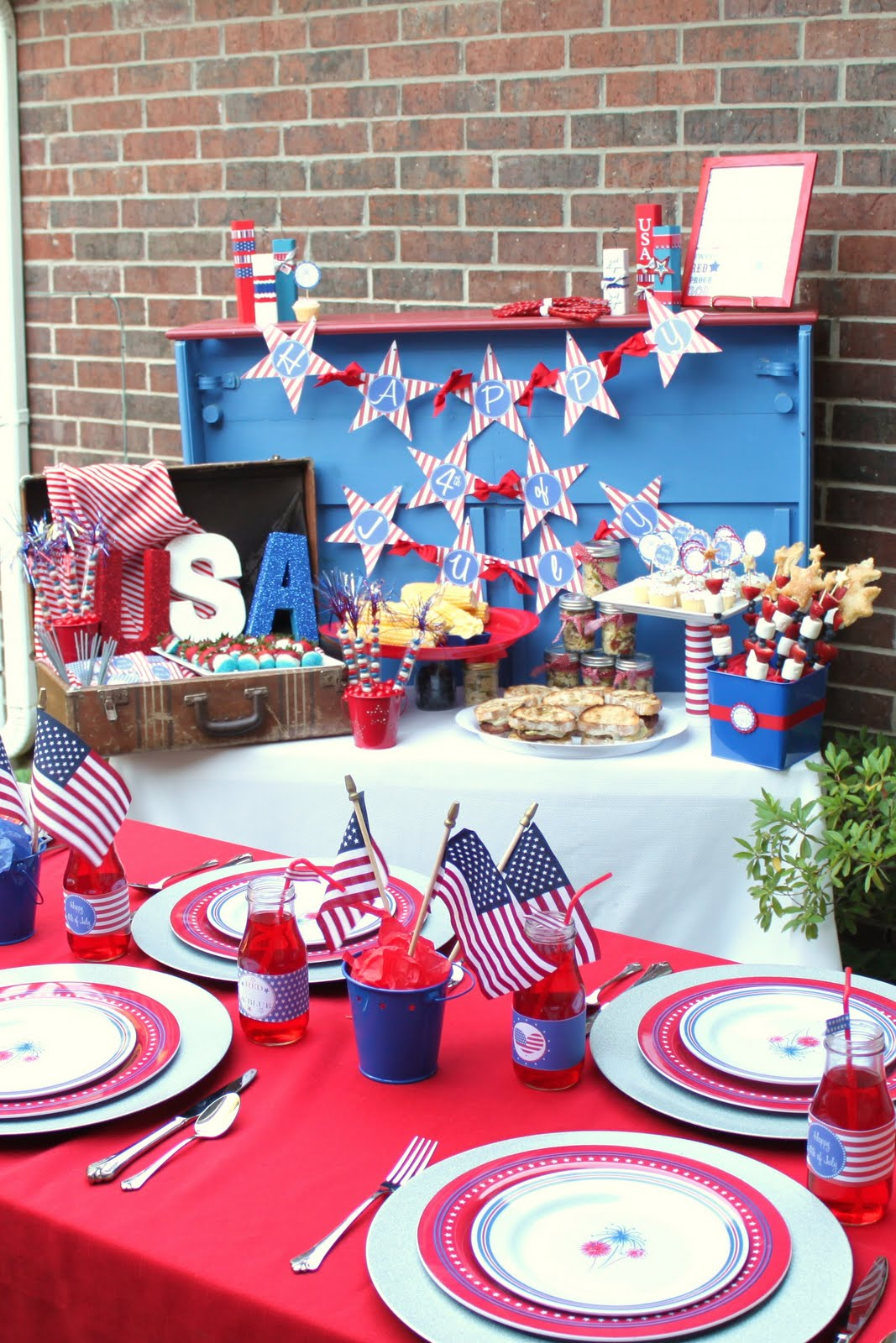 4th of july bbq For4th Of July Party Decoration