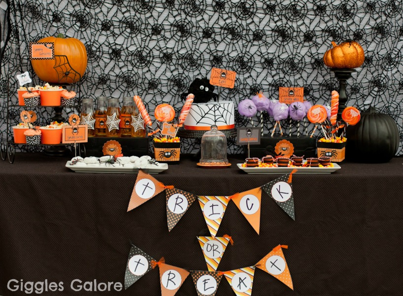 spooktacular halloween spider party - Party Halloween