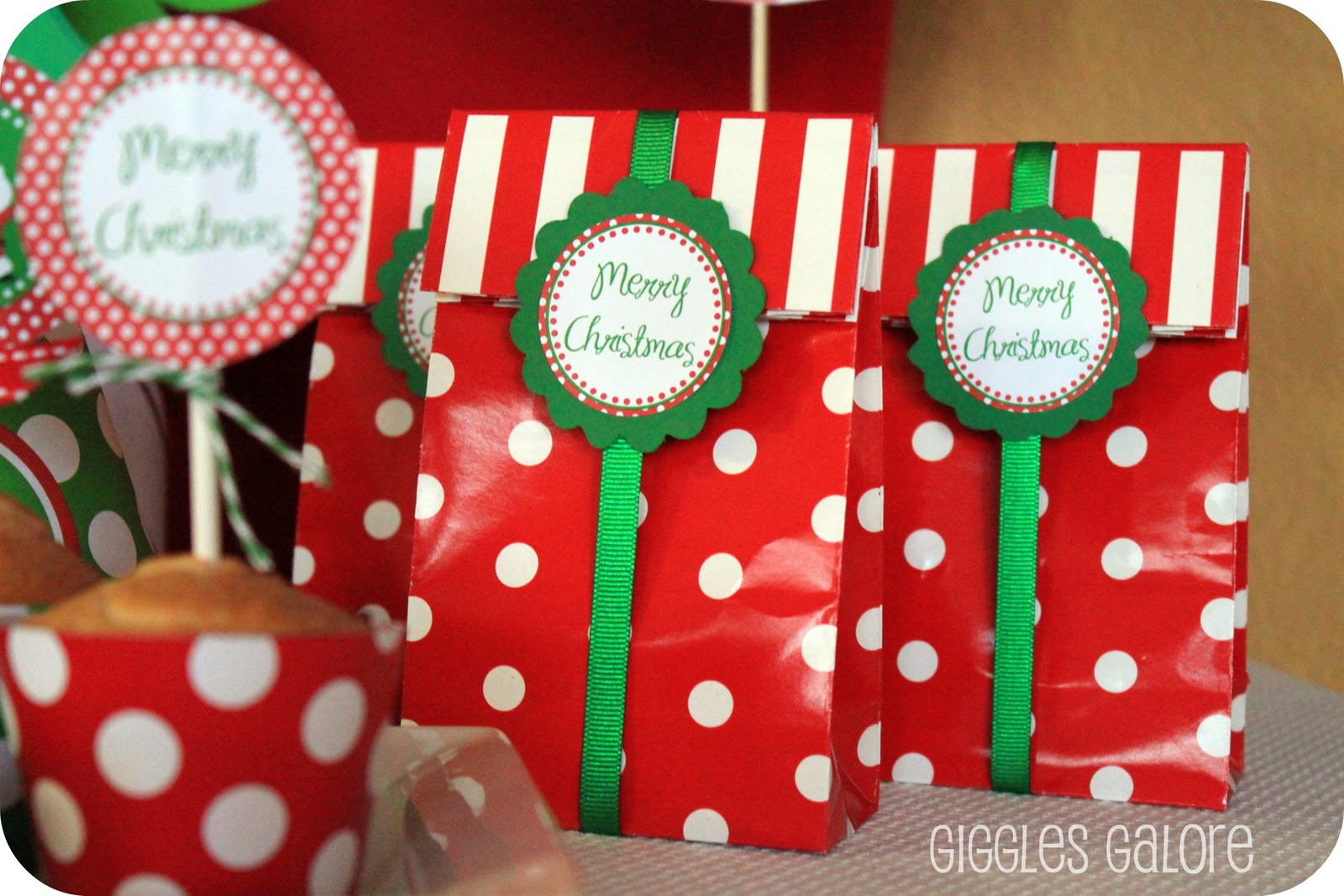 north pole breakfast 2011 giggles galore - Christmas Candy Bags