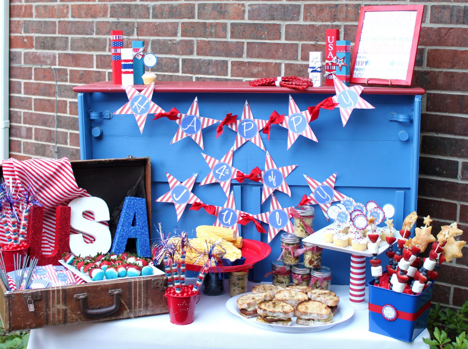 4Th Of July Backyard Party Ideas 4th of july bbq - giggles galore