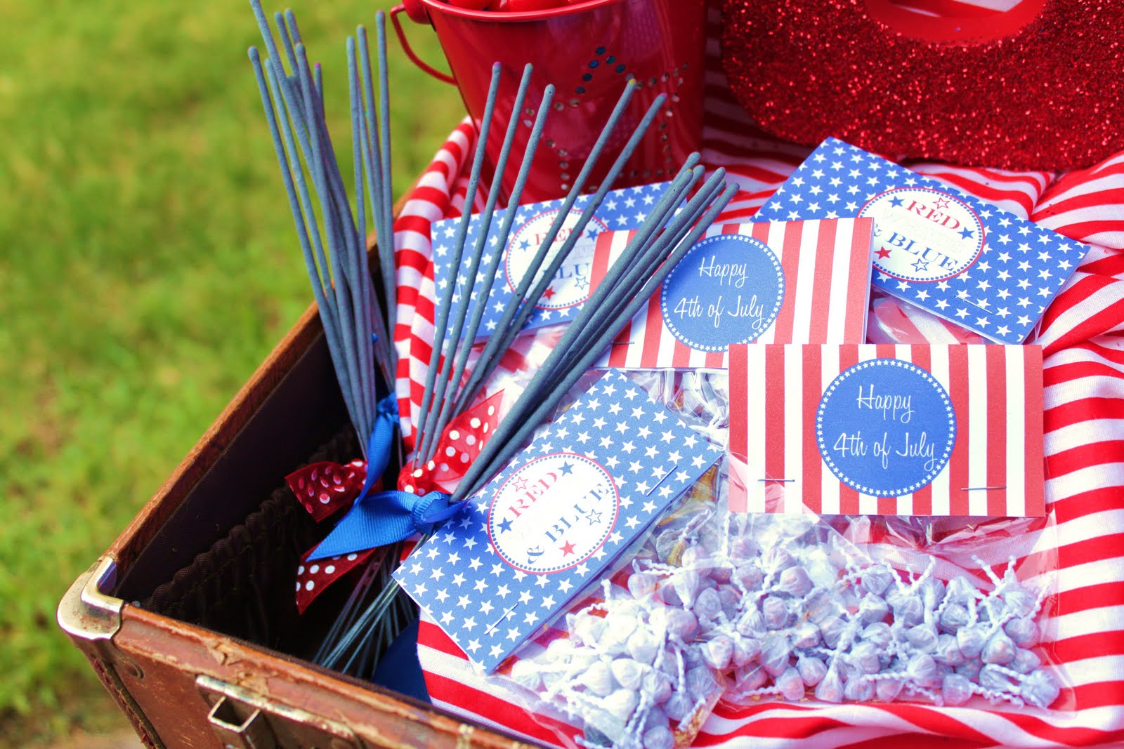 4th of july party favors candy 4th of july bbq giggles galore