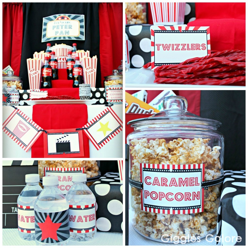 Concession Stand For Theater Room With Images: Outdoor Movie Night Party & Giveaway
