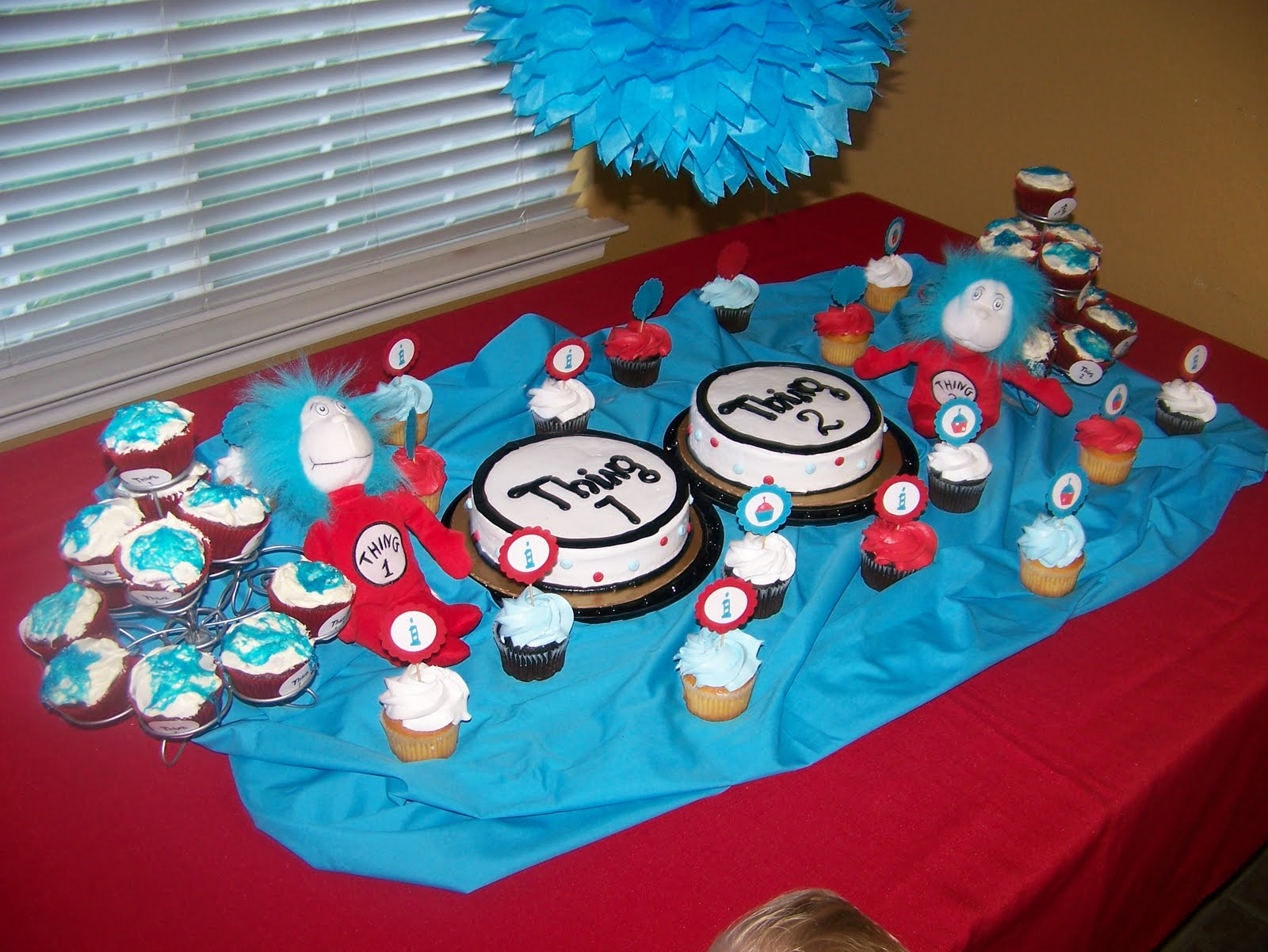 Seuss Thing Birthday Party