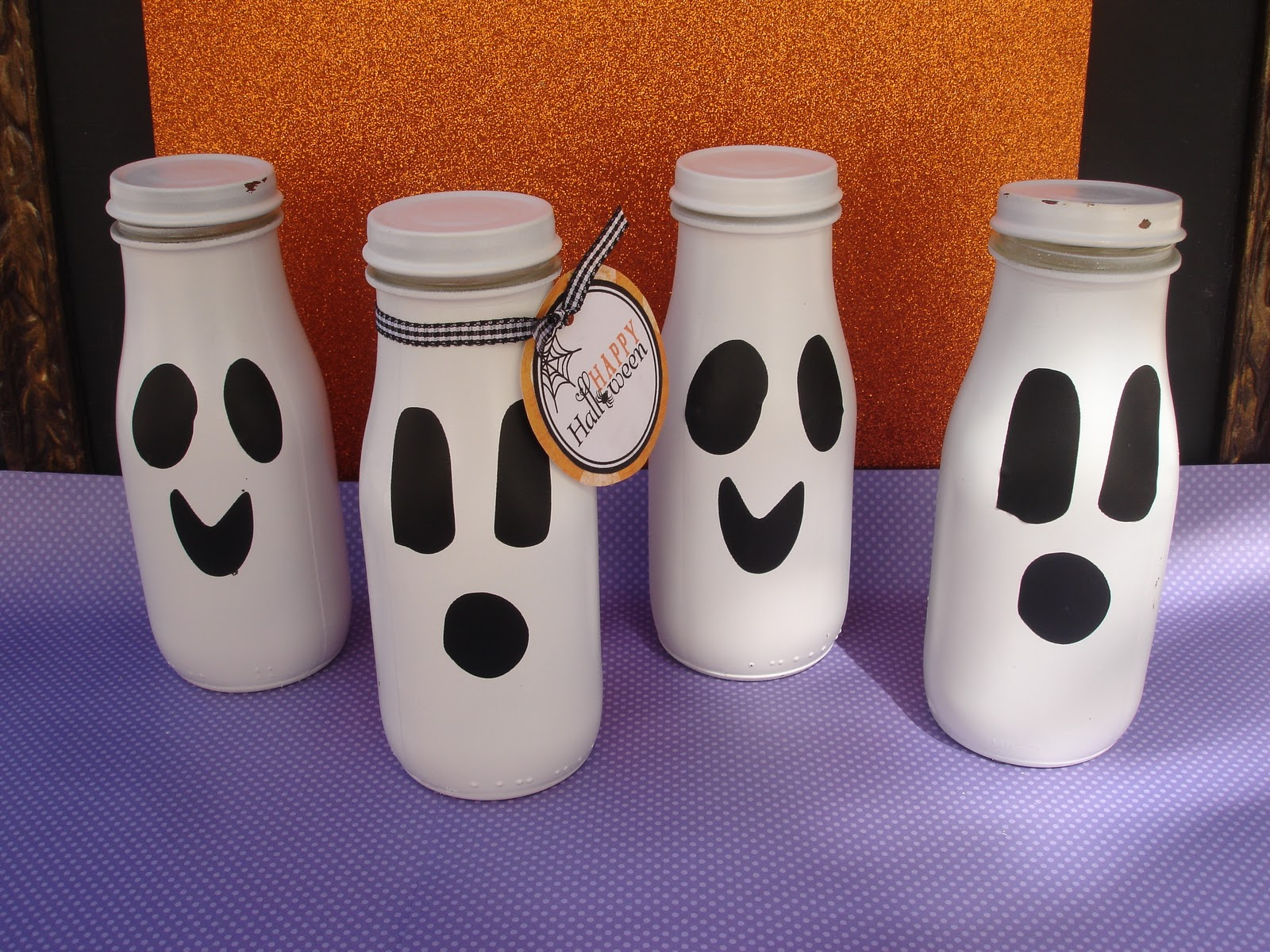 Ghost Candy Jars Giggles Galore
