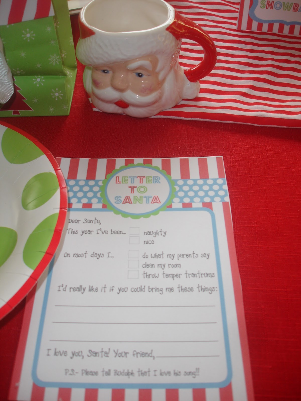 North Pole Ideas North Pole Breakfast
